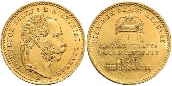 1867 koronazasi aranyerem