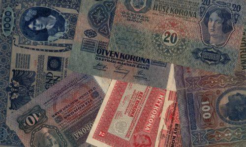 Korona bankjegyek inflációja 1892-1926