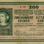 A 200 koronás fehérpénz változatai