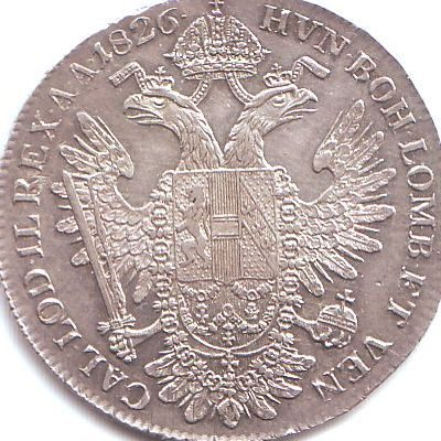 1 konv. forint 1826