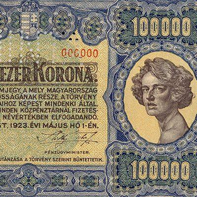 100 ezer Korona 1923
