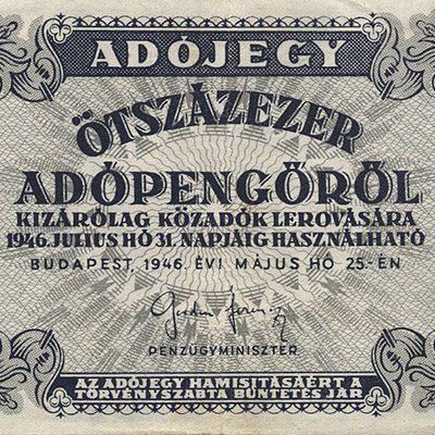 500ezer Adópengő 1946
